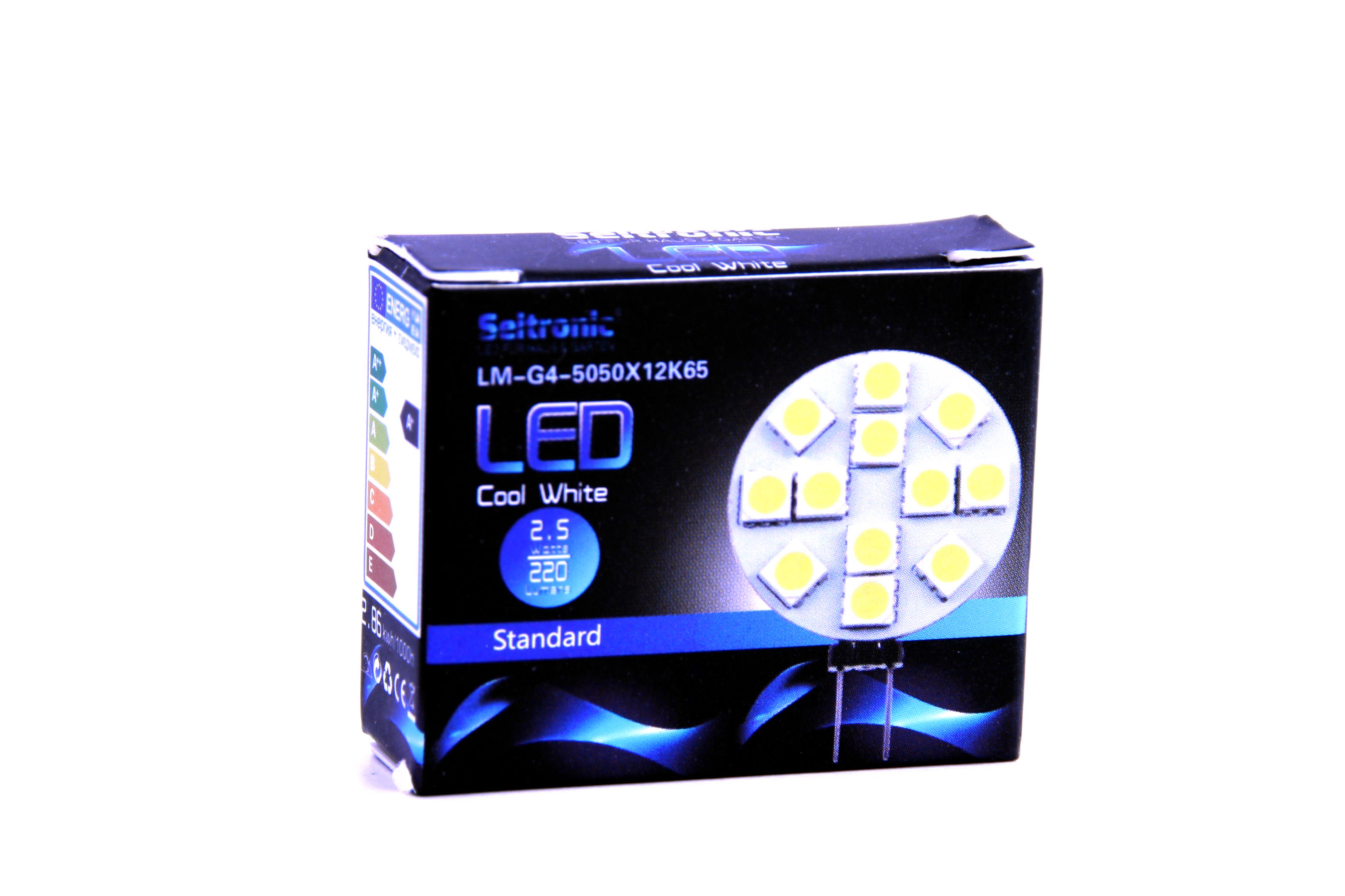g4_led_leuchtmittel_seitronic_-_25_watt_220lm_6500k_12_leds_kalt-weiss_4970_2 Faszinierend Led 2 5 Watt Entspricht Dekorationen
