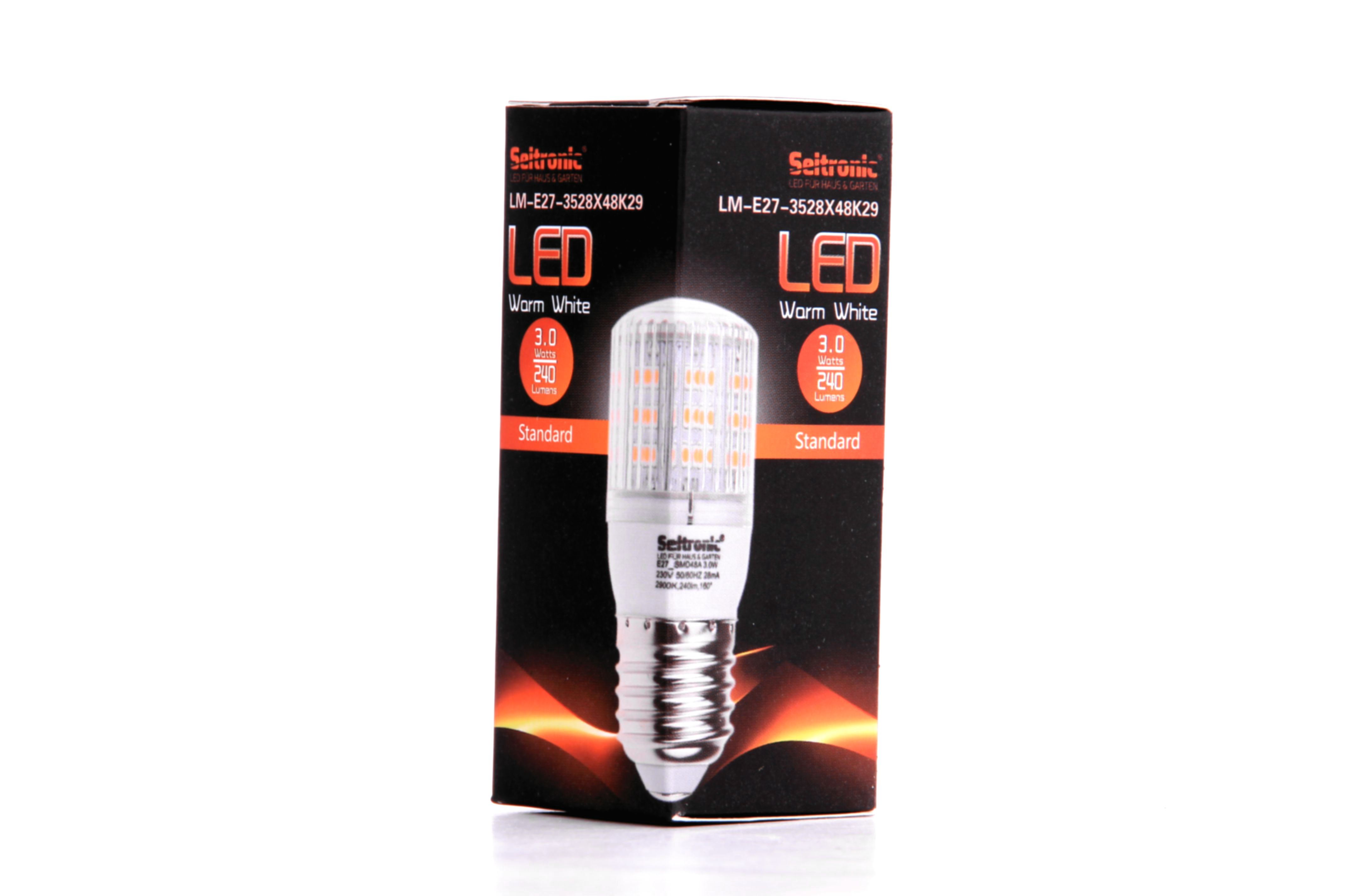 led_lampe_seitronic_e27_warm Luxus Led Lampe 3 Watt Dekorationen